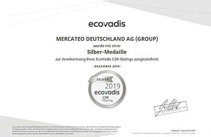 grafik ecovadis rating certificate